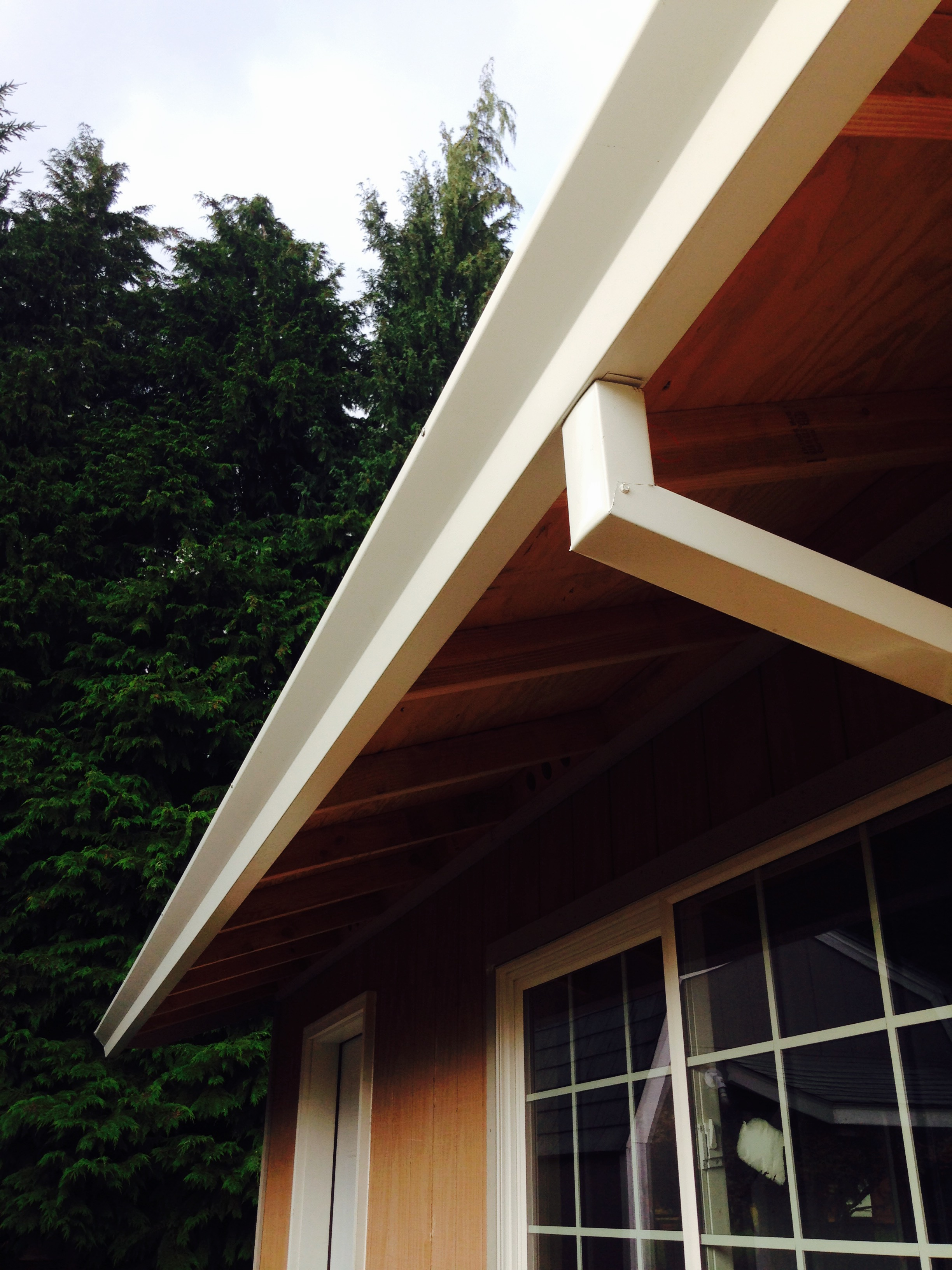 6 inch K gutter installation