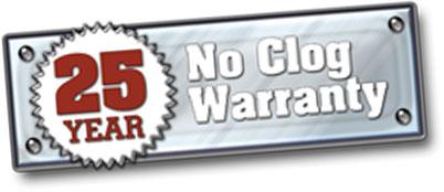 bulldog gutter guard warranty